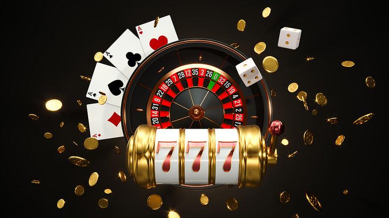 3D Rendered Online Casino Items