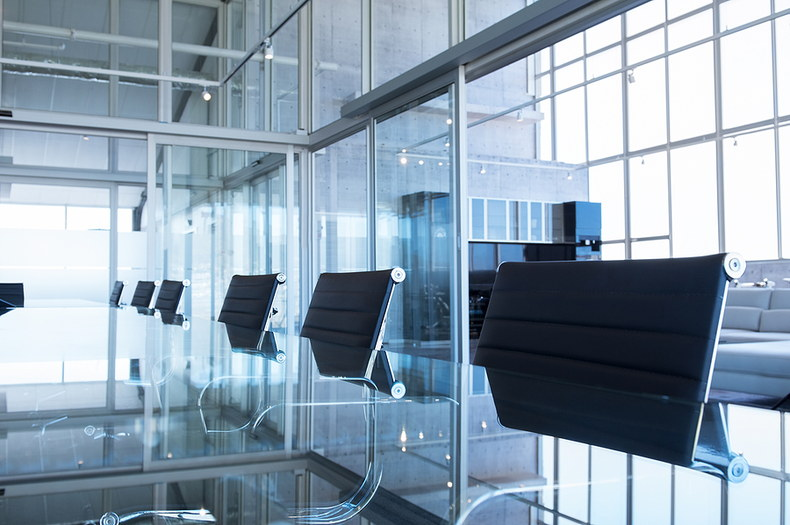 Boardroom Glass Table