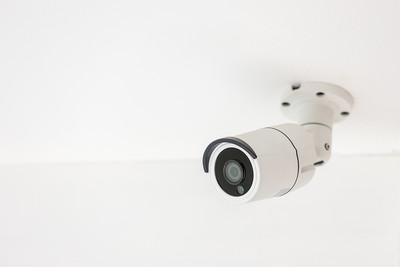 CCTV Camera on Ceiling