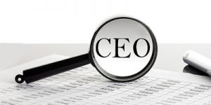 CEO Under Magnifying Glass