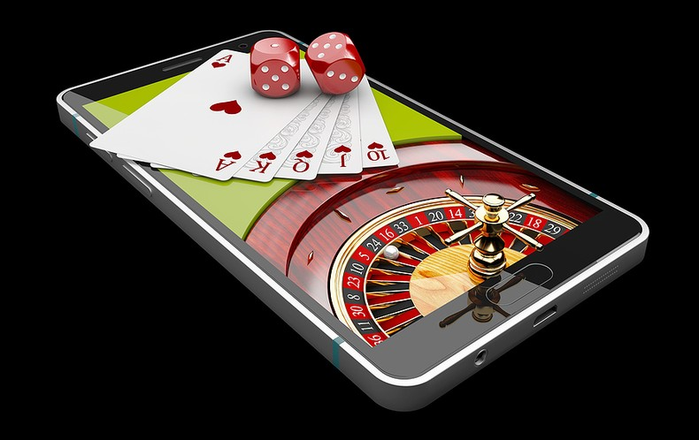 Casino Products on Smartphone