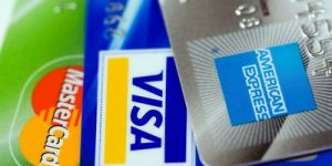 Credit Cards Close Up
