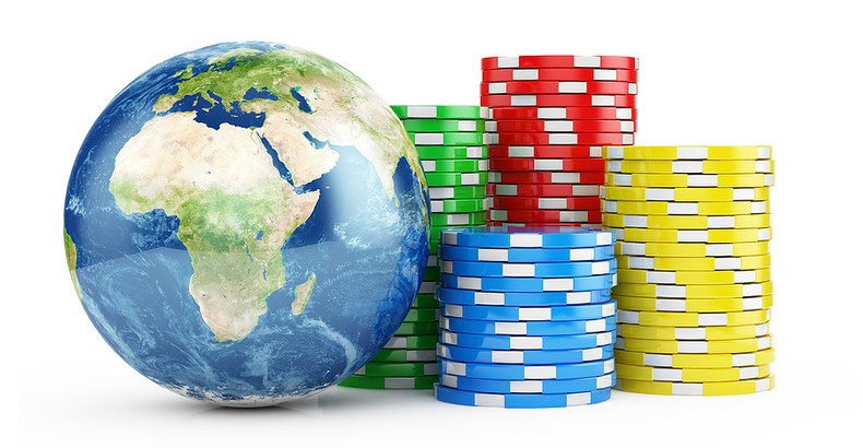 Earth and Casino Chips