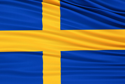 Fabric Sweden Flag