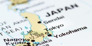 Japan Blurred Map