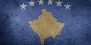 Kosovo Distressed Flag