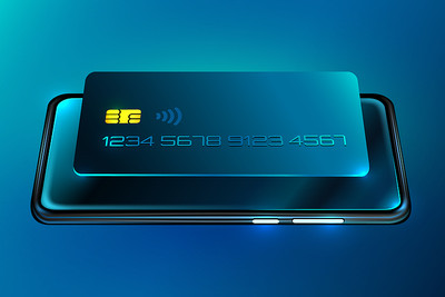Mobile Phone and Payment Card