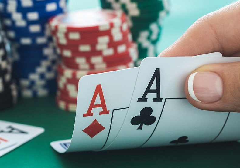 Poker Pair of Aces
