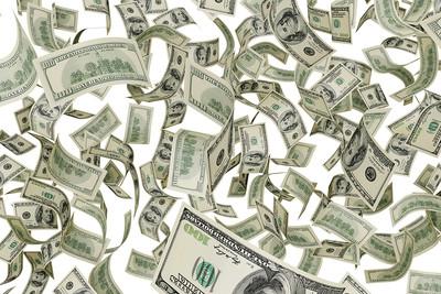 Raining Dollar Bills
