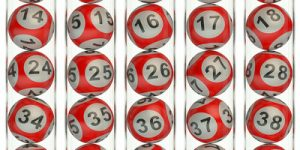 Red Lottery Balls