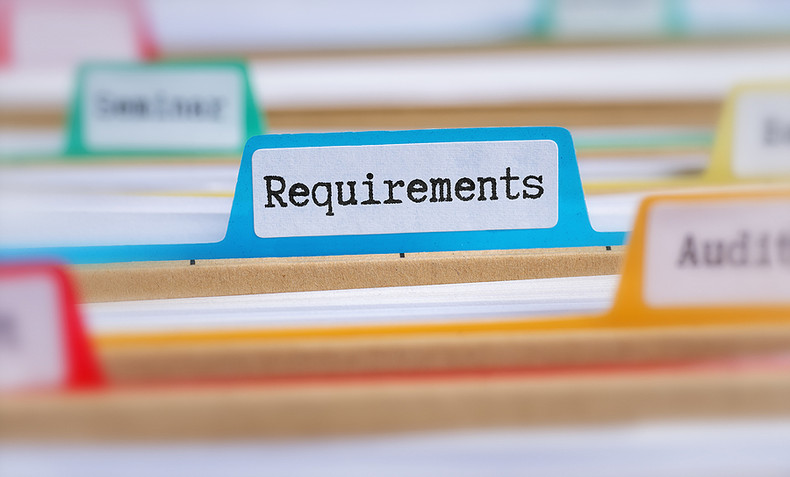 Requirements Tab