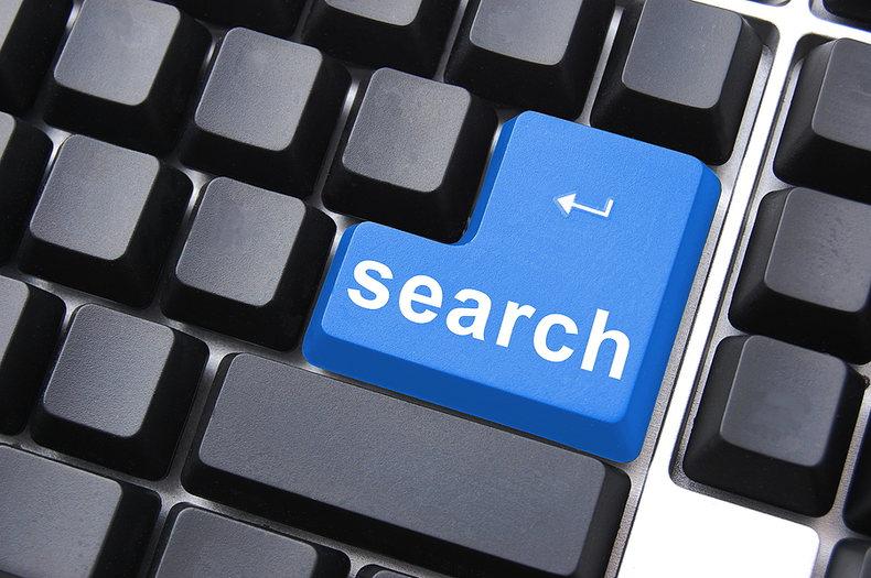 Search Keyboard Button