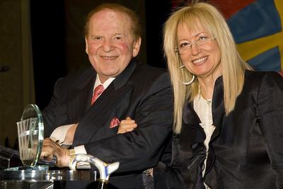 Sheldon and Miriam Adelson