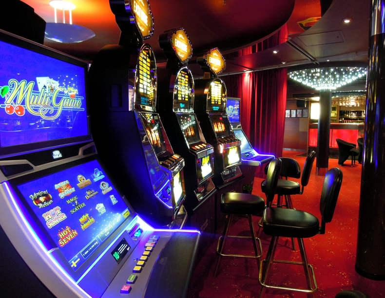 Slot Machines Empty