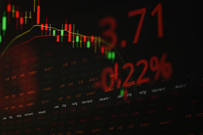 Stock Decline Chart