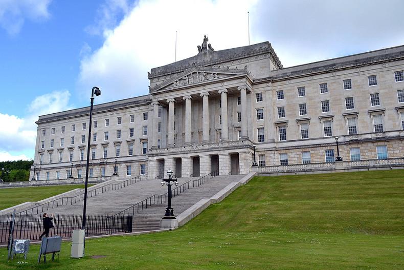 Stormont Parliament House in Belfast