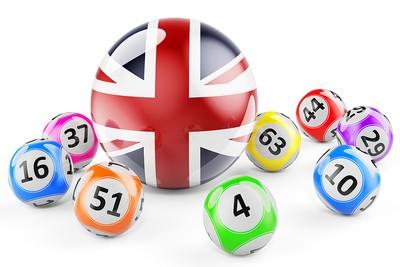 UK Flag Lotto Balls