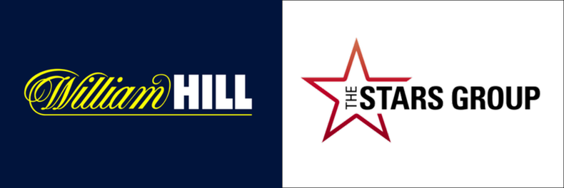 William Hill and Stars Group Logos