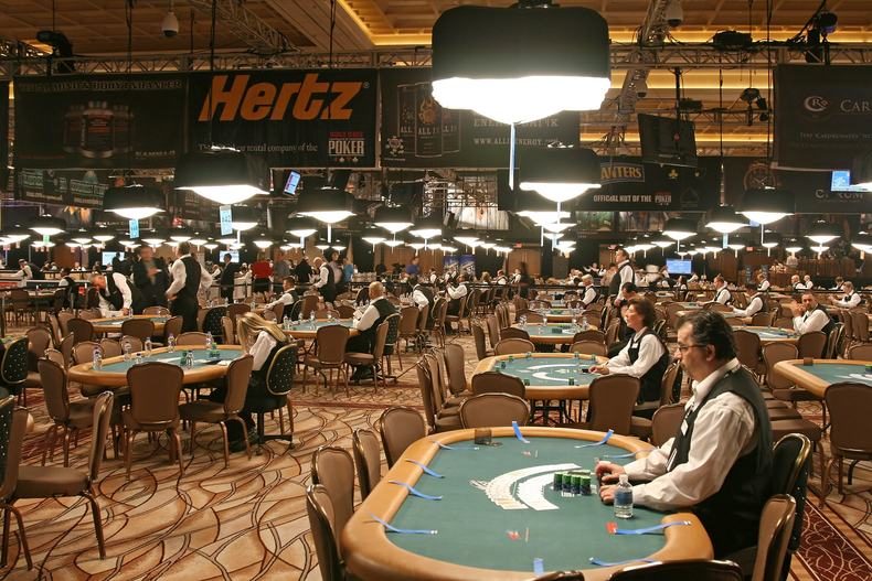 World Series of Poker Dealers